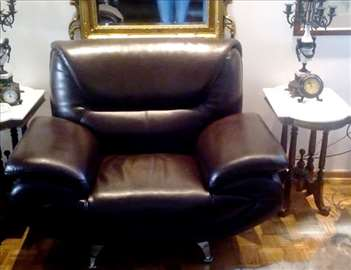 Garnitura za sedenje, italijanski stil, eko koža