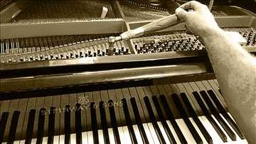 Štimovanje klavira - Klavir štimer