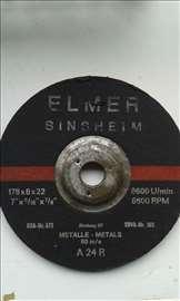 Ploča, brusna za metal, 180mm, debljine 6 i 8mm