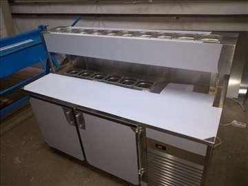 Inox radni i rashladni stolovi, sudopere za pekare