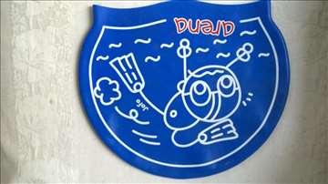 Kapa za plivanje Arena Jofo silikon boja plava