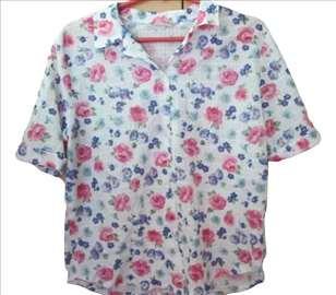 Cvetna košulja sa kratkim rukavima
