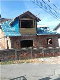 Renoviranje i izgradnja svih vrsta krovova