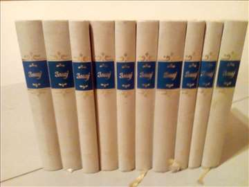 ČIKA JOVA ZMAJ komplet 10 knjiga tvrd povez