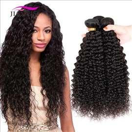 Prodajem brazilska kovrdžvu kosu, 100g, prirodnu