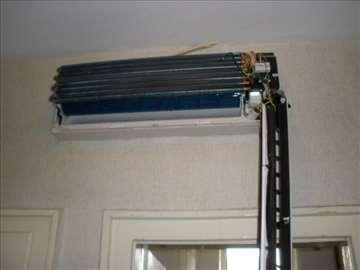Usluge montaže, popravke i servisiranja klime