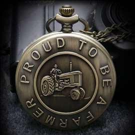 Džepni sat `Ponosan sto sam Farmer`