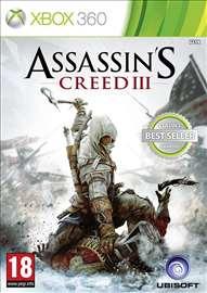 Assassins creed 3 za XBOX 360