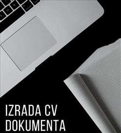 Izrada CV dokumenta