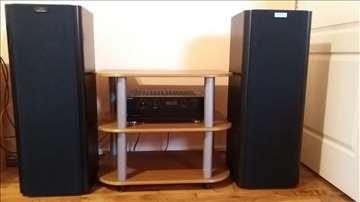 Norsk Audio Baltic 90 2x200W+Sony TA-F570ES 4x150W
