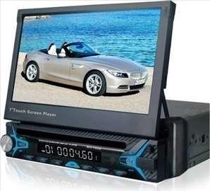 Multimedija na izvlacenje Mp5 7inca touch screen