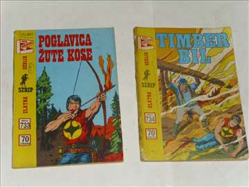 Poglavica Žute kose,Timber Bil-Zagor-ZS-733,734