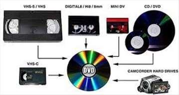 Prebacivanje Hi8 na DVD