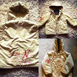 Vrhunska zimska jakna za devojčice, punjena