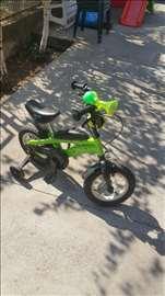 Dečiji Bicikl Lumpi zeleni uzrast dece do 3.5