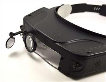 LED Lupa za glavu br.3 - Uvecanje do 11x - novo