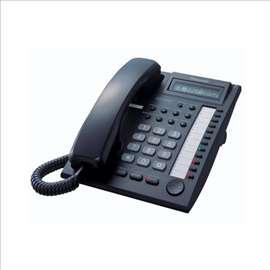Sistemski telefon za centralu u crnoj boji, novo.