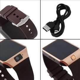 Dz09 smart watch pametan sat Zlatni