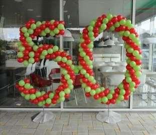 KURS dekoracije balonima, prodaja opreme