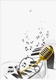 Časovi klavira, solfeđa i pevanja