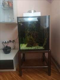 Akvarium sa celokupnom opremom