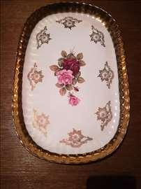 Bavaria ovalna tacna za sitne kolace