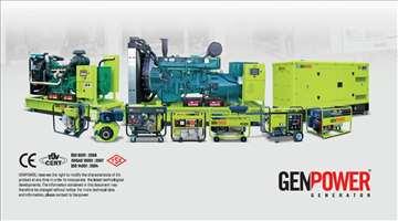 Novi agregati za struju GNT25