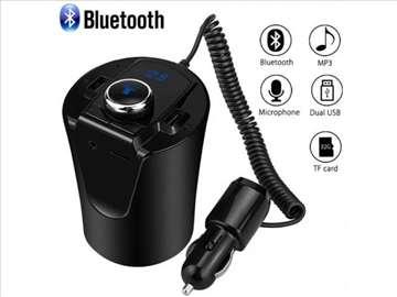 BX7 Bluetooth Mp3 Handsfree Transmiter Usb Aux Sd