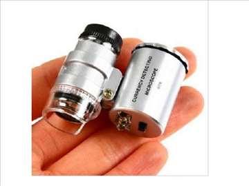 Lupa mikroskop 60x uvećanje sa LED i UV