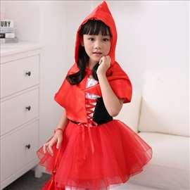 Crvenkapa kostim u 3 dečije veličine