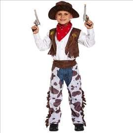 Kaubojac kostim za maskembal u 3 veličine S,M i L