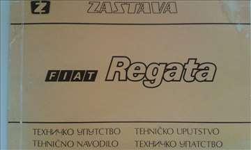 Fiat Regata 100 S i.e. Tehničko uputstvo