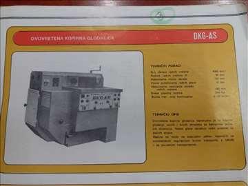Hitno prodajem dvovretenu kopirnu glodalicu DKG-AS