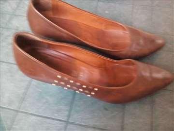 Cipele kožne braon 40
