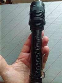 Baterijska lampa 1108+za samoodbranu