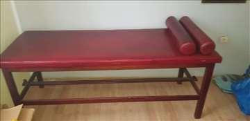 Kozmetički sto za masažu i paravan