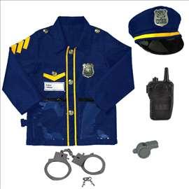 Uniforma za male policajce - set