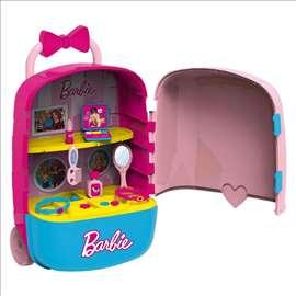 Veliki kofer set za ulepšavanje Barbika