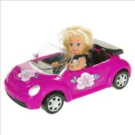 Barbika u kabrioletu