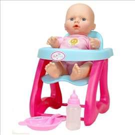 Beba u hranilici - set