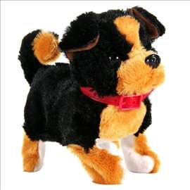 Pas na baterije - laje, maše repom, mrda glavu