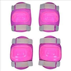 Roze štitnici za kolena i laktove