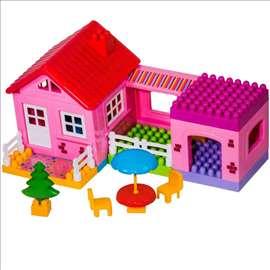Set kockica za pravljenje kuće