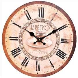 Zidni sat Espresso 33cm - novo