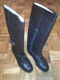Čizme, duboke, koža, broj 37