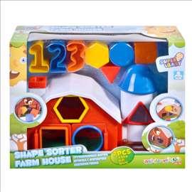 Edukativna igračka za bebe-kućica