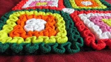 Jastučnice - heklani karneri od vunice (par)