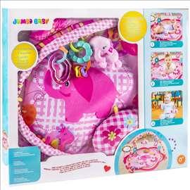 Prostirka, jastuk i igračke za bebe