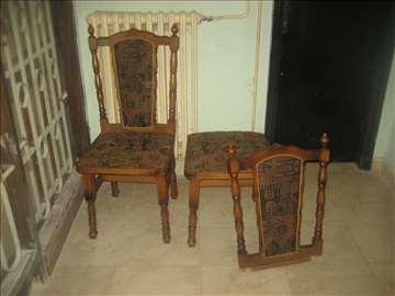 Akcija trpezarijske stolice 2 cena za obe