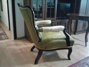 Fotelja bidermajer-autenticna